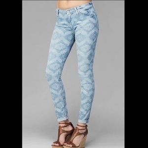 7 For All Mankind The Skinny Aztec Jeans